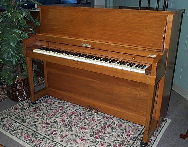Types sizes of pianos for Dimensions of an upright piano